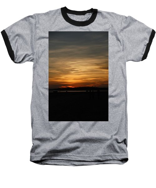 Baseball T-Shirt featuring the photograph Sunset In Pastels by Fotosas Photography