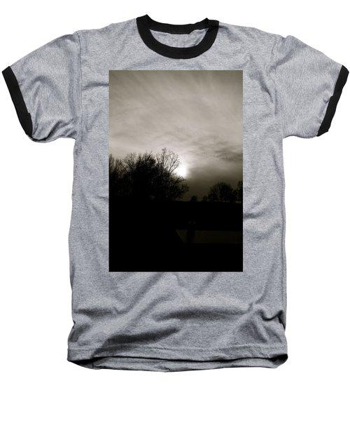 Sunset Baseball T-Shirt by Kume Bryant
