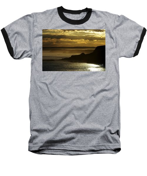 Baseball T-Shirt featuring the photograph Sunset Mist by Blair Stuart