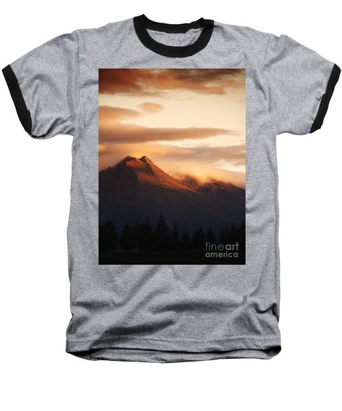 Sunset Mountain Baseball T-Shirt