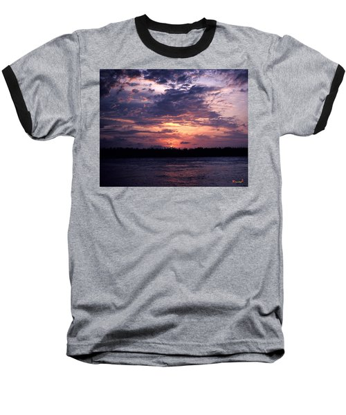 Baseball T-Shirt featuring the photograph Sunset Off Mallory Square 14s by Gerry Gantt