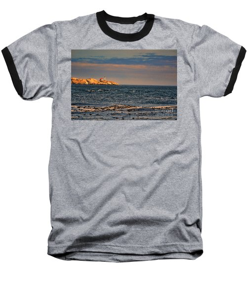 Sunset Over British Columbia Baseball T-Shirt