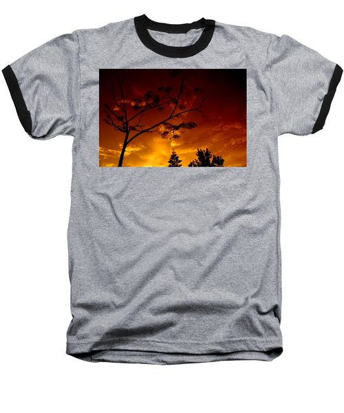 Sunset Over Florida Baseball T-Shirt
