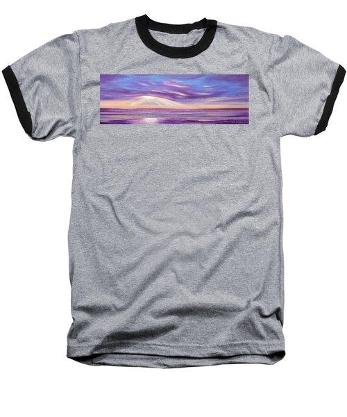 Sunset Spectacular - Panoramic Sunset Baseball T-Shirt