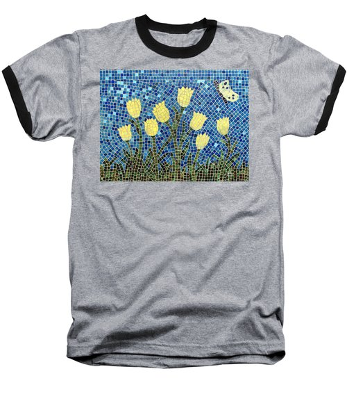 Baseball T-Shirt featuring the painting Sunshine by Cynthia Amaral