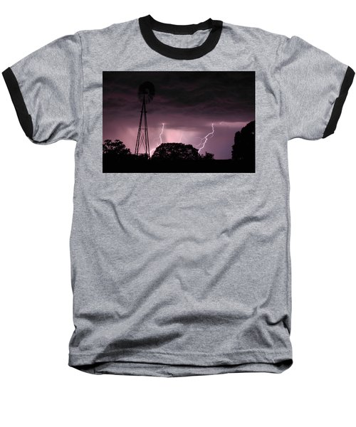 Super Storm Baseball T-Shirt