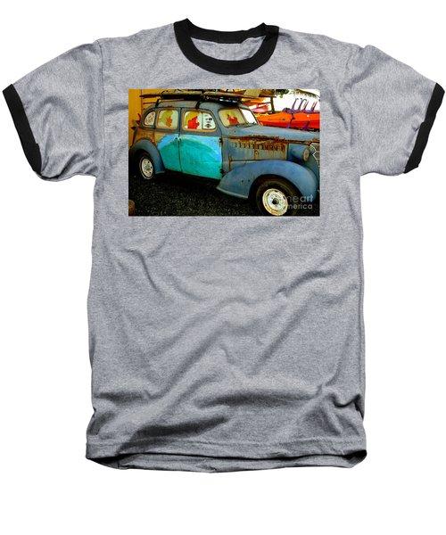 Surf Mobile Baseball T-Shirt