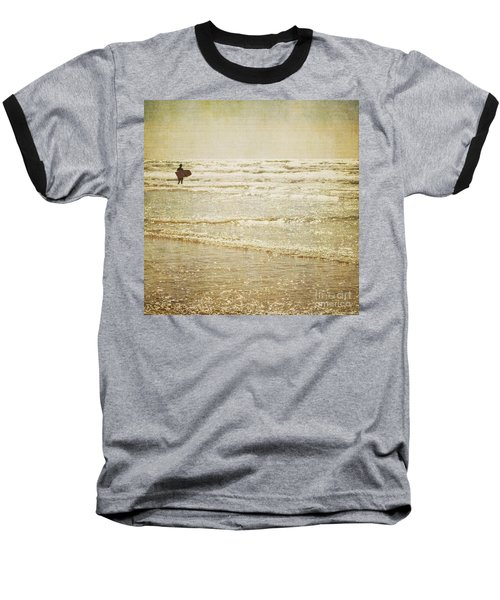 Surf The Sea And Sparkle Baseball T-Shirt by Lyn Randle