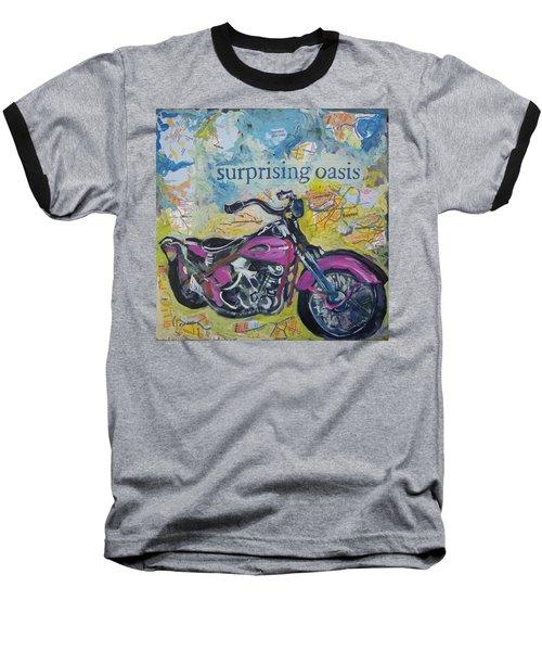 Surprising Oasis Baseball T-Shirt