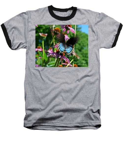 Swallowtail In Motion Baseball T-Shirt