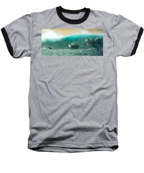 Swim Thru Baseball T-Shirt