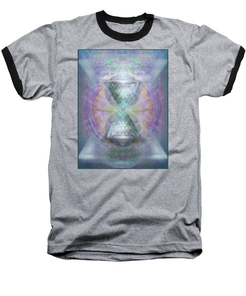 Synthesphered Grail On Caducus Blazed Tapestrys Baseball T-Shirt
