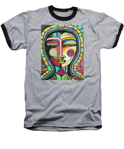 -talavera Virgin Of Guadalupe Protection Baseball T-Shirt