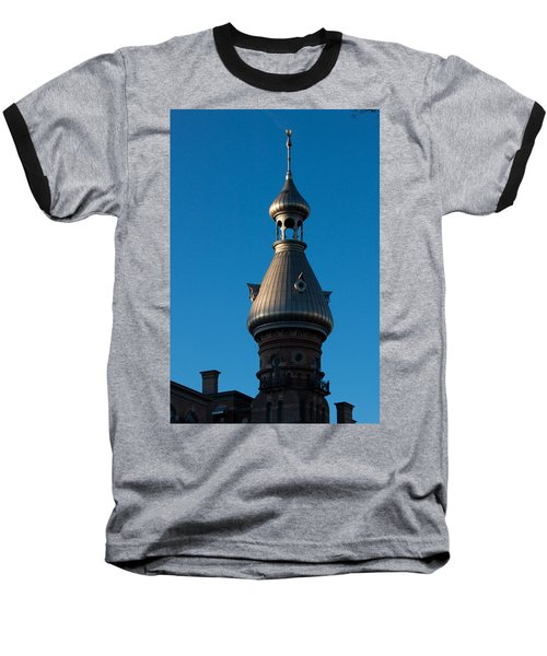 Baseball T-Shirt featuring the photograph Tampa Bay Hotel Minaret by Ed Gleichman