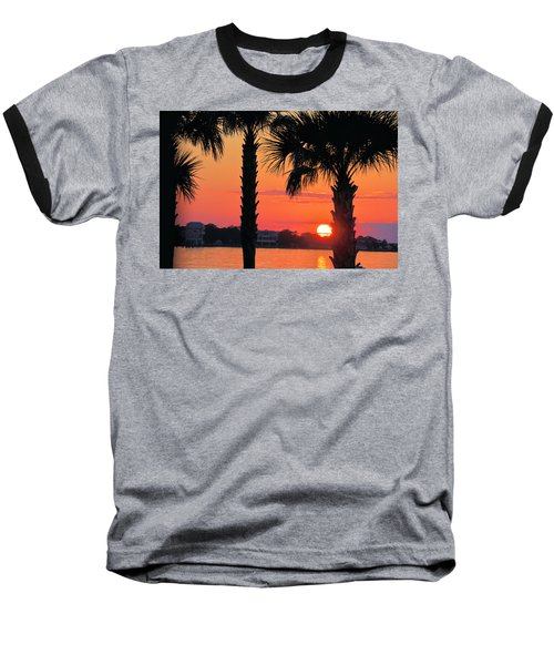 Tangerine Dream Baseball T-Shirt by Jan Amiss Photography