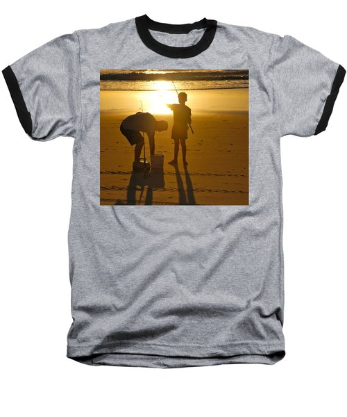 Baseball T-Shirt featuring the photograph Teach A Man To Fish... by Eric Tressler