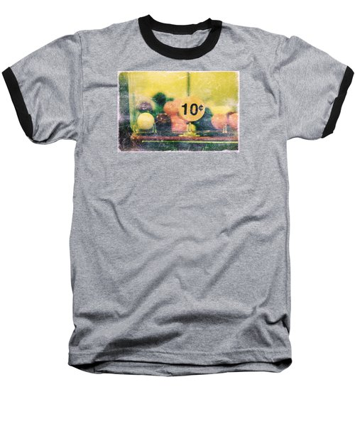 Baseball T-Shirt featuring the photograph Ten Cent Candy by Toni Hopper