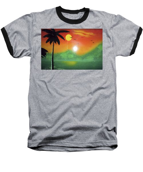 Tequila Sunrise Baseball T-Shirt
