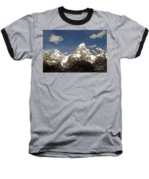 Teton Tips Baseball T-Shirt by Living Color Photography Lorraine Lynch
