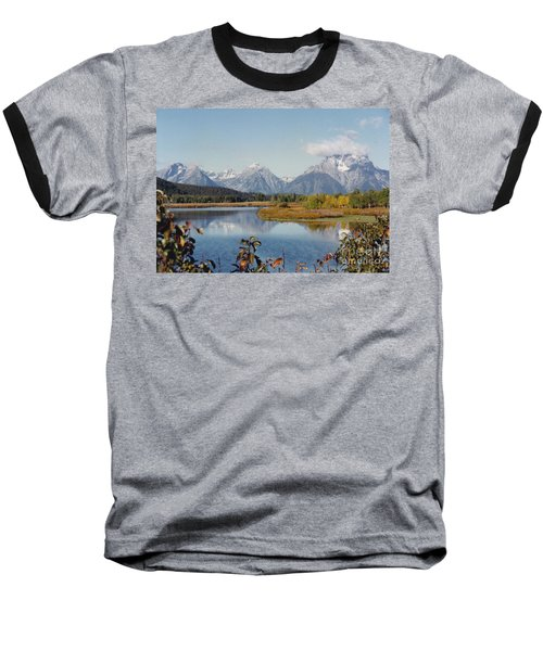 Tetons Reflection Baseball T-Shirt