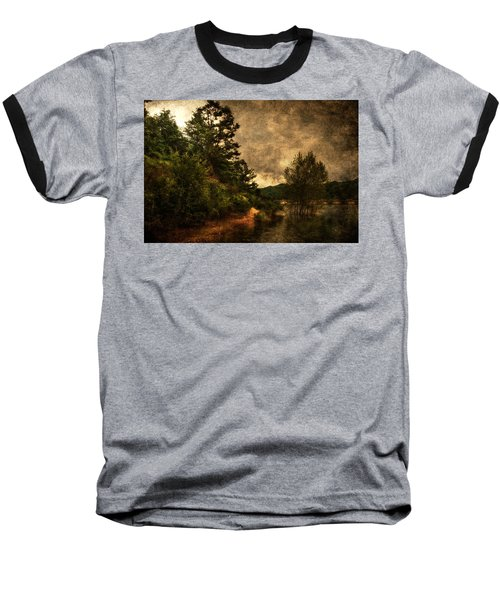 Textured Lake Baseball T-Shirt