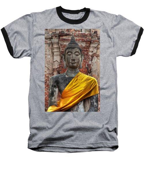 Thai Buddha Baseball T-Shirt