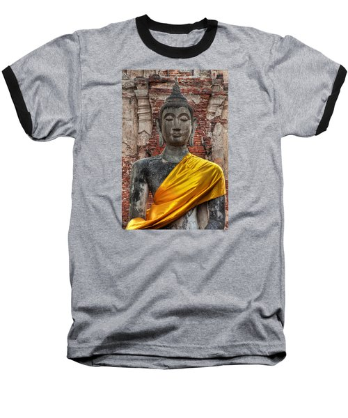Thai Buddha Baseball T-Shirt