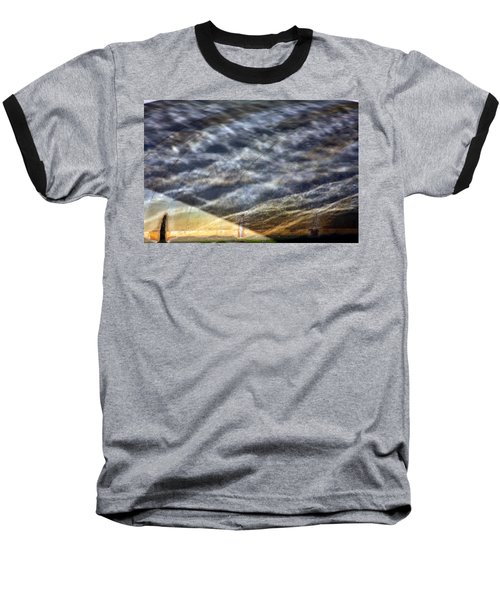 Thames Reflections Baseball T-Shirt