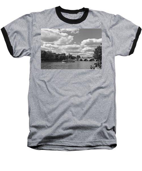 Baseball T-Shirt featuring the photograph Thames River Cruise by Maj Seda