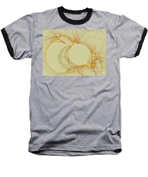 Baseball T-Shirt featuring the digital art The Arcs by Kim Sy Ok