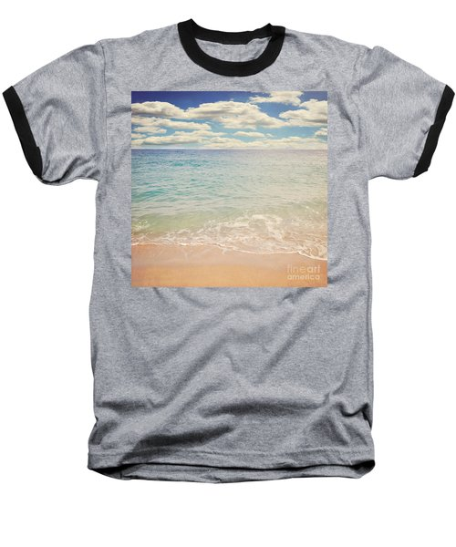 The Beach Baseball T-Shirt by Lyn Randle
