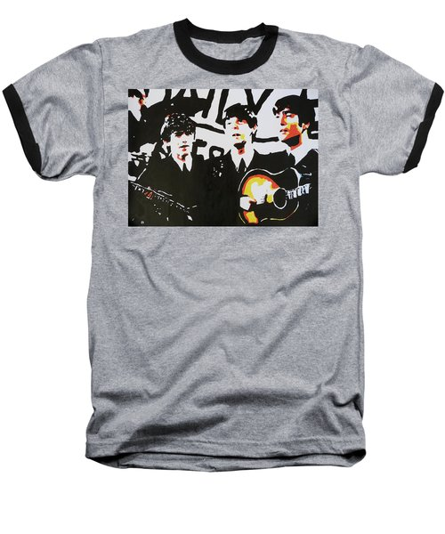 The Beatles Baseball T-Shirt