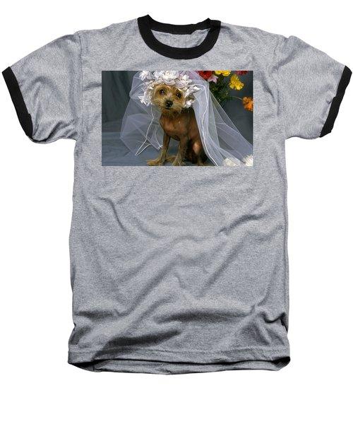 The Bride Is A Real Dog Baseball T-Shirt
