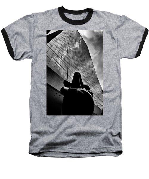 The Bull Never Sleeps Baseball T-Shirt