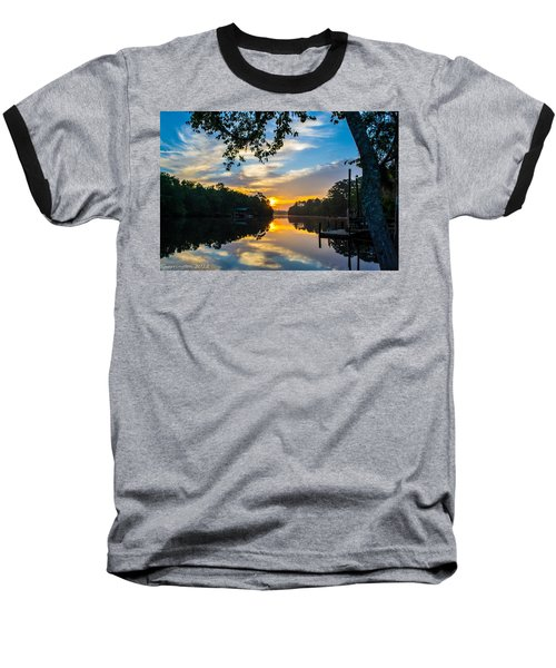 The Calm Place Baseball T-Shirt by Shannon Harrington
