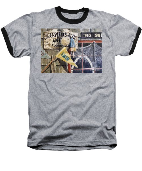The Captains Attic Sold Baseball T-Shirt