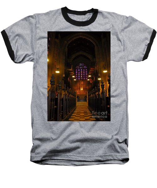 Baseball T-Shirt featuring the photograph The Chapel At Valley Forge Park by Cindy Manero