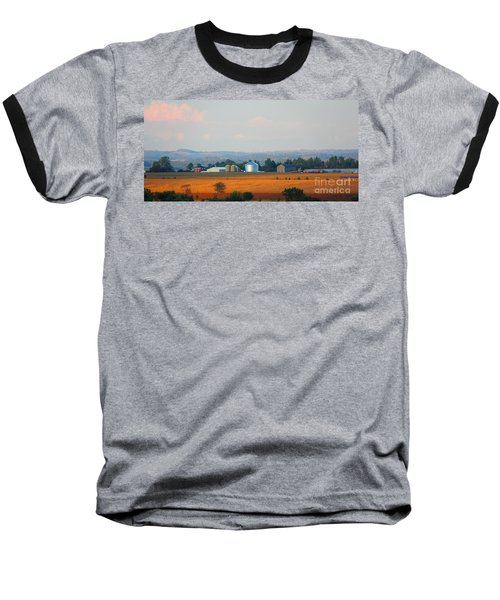 Baseball T-Shirt featuring the photograph The Countryside by Davandra Cribbie