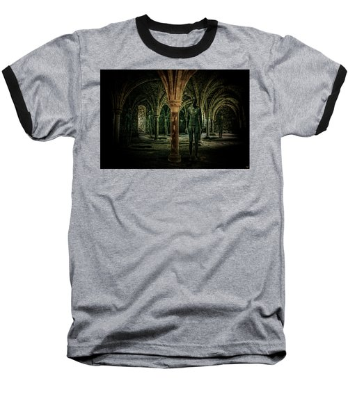 Baseball T-Shirt featuring the photograph The Crypt by Chris Lord
