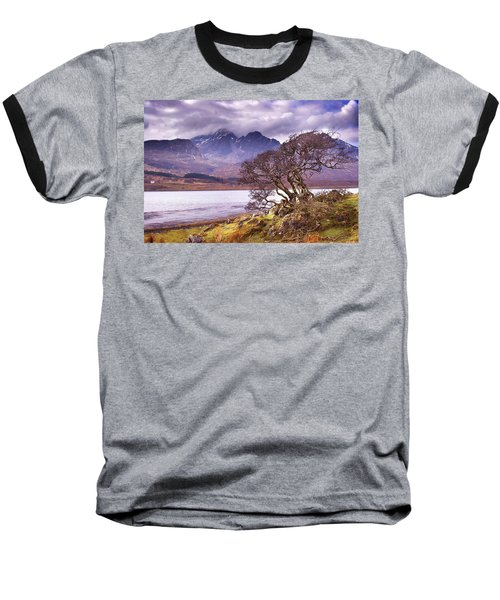 The Cuillins Skye Baseball T-Shirt