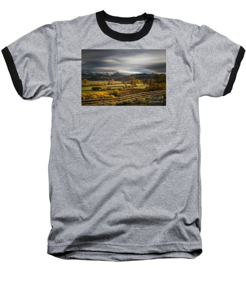 Baseball T-Shirt featuring the photograph The Dallas Divide by Keith Kapple