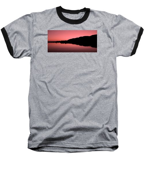 Baseball T-Shirt featuring the photograph The End Of The Day ... by Juergen Weiss