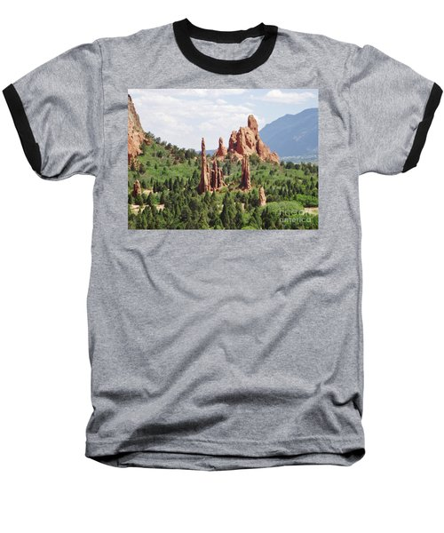The Garden Of The Gods Baseball T-Shirt