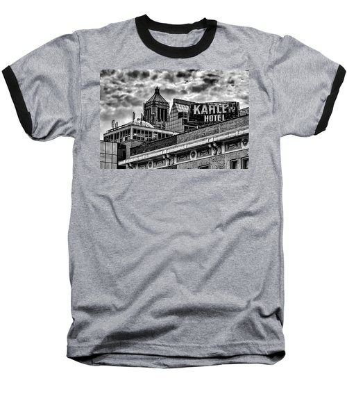 Baseball T-Shirt featuring the photograph The Gathering Storm by Tom Gort