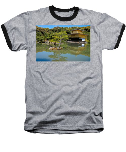 The Golden Pavilion Baseball T-Shirt