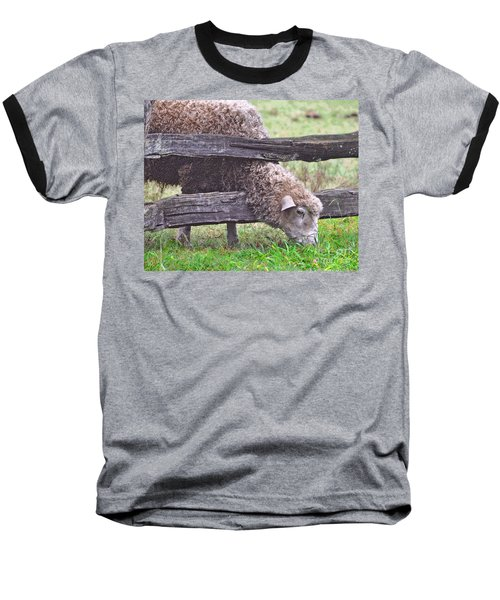 Baseball T-Shirt featuring the photograph The Grass...on The Other Side by Lydia Holly