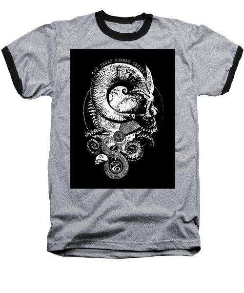 The Great Horned Secret  Baseball T-Shirt