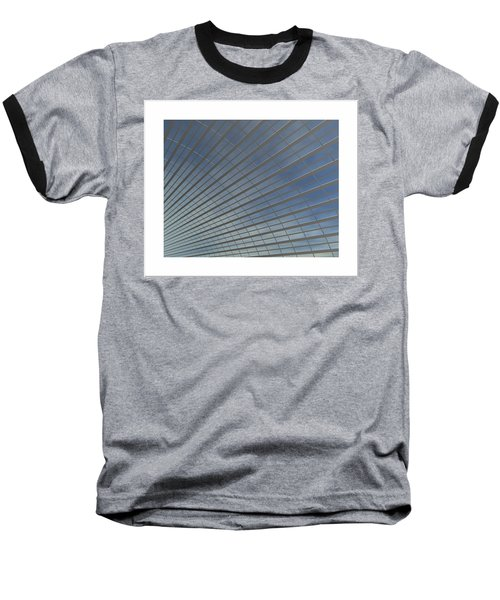 Baseball T-Shirt featuring the digital art The Hangar... by Tim Fillingim