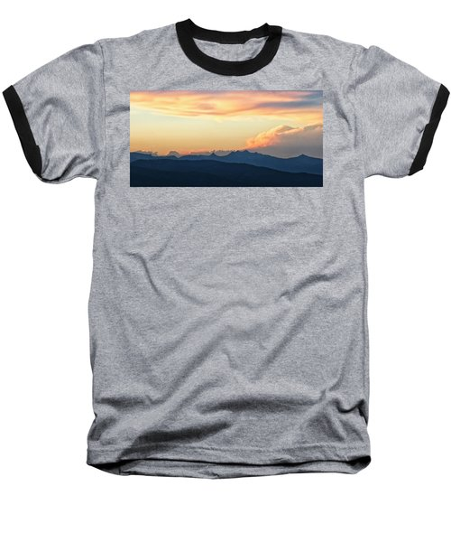 Baseball T-Shirt featuring the photograph The Idaho Selkirks by Albert Seger