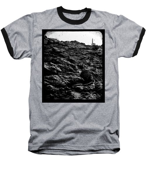 Baseball T-Shirt featuring the photograph The Lighthouse1 by Pedro Cardona